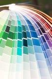 Guía del color del diseñador fotos de archivo libres de regalías