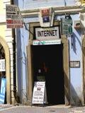 Guía porta chistosa al Internet Foto de archivo libre de regalías