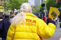 Guía turístico Foto de archivo libre de regalías
