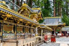 Gu, Sintoizm świątynia w Nikko Obrazy Stock