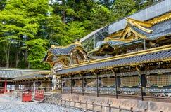 Gu, Sintoizm świątynia w Nikko Fotografia Royalty Free