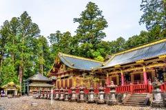 Gu, Sintoizm świątynia w Nikko Obraz Stock
