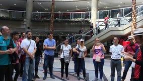 Gu?a tur?stico en Caracas, Venezuela en el anuncio publicitario, financiero, el turista y el distrito cultural de Sabana grandes almacen de video