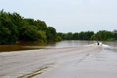 河GuaÃba 免版税图库摄影