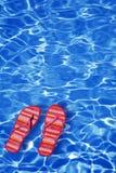 Água azul Imagem de Stock