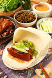 Gua Bao (βρασμένο στον ατμό σάντουιτς) στοκ εικόνα με δικαίωμα ελεύθερης χρήσης