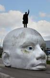 Água de Boven da escultura Fotos de Stock Royalty Free