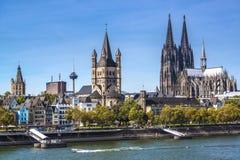 Água de Colônia, Alemanha Imagem de Stock Royalty Free