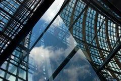 Água de Colônia moderna da arquitetura Fotos de Stock Royalty Free