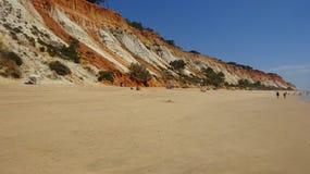 Gua del  de Praia Olhos de à Imagen de archivo libre de regalías