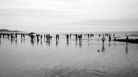 Gua del  de Praia Olhos de à Foto de archivo