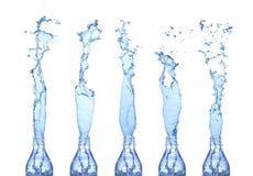 A água espirra Imagem de Stock