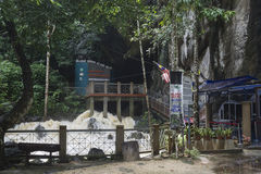 Gua Kelam, Perlis, Malezja obraz royalty free