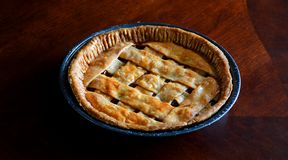 Guaba Pie in a Table royalty free stock photo