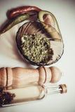 Guacamole épicé images stock