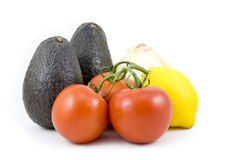guacamole συστατικά στοκ φωτογραφίες