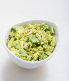Guacamole Appetizer Healthy Snack Stock Photo