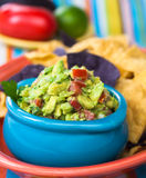 Guacamole Bowl Stock Photography