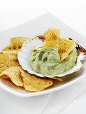 Guacamole and Chips II Royalty Free Stock Photos