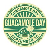 Guacamole Day stamp. Guacamole Day, September 16, rubber stamp, vector Illustration vector illustration