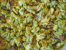 Guacamole dip food Stock Images