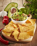 Guacamole dip Royalty Free Stock Photography