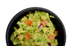 Guacamole dip with tomatoes Royalty Free Stock Photography