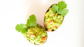 Guacamole ingredients. Healthy and delicious Royalty Free Stock Photos
