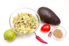 Guacamole ingredients Royalty Free Stock Image