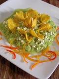 Guacamole messicano immagini stock