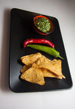 Guacamole mexicano foto de archivo libre de regalías