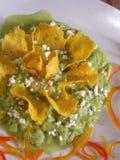 Guacamole mexicano imagens de stock