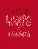 Guacamole & Nachos Στοκ φωτογραφία με δικαίωμα ελεύθερης χρήσης