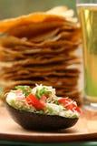 guacamole noc Fotografia Stock