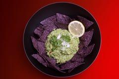 guacamole o шара Стоковое Изображение