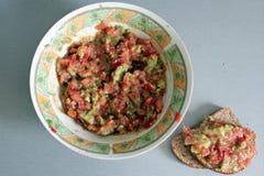 Guacamole - salad Royalty Free Stock Photos