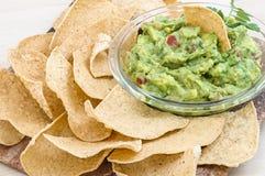 Guacamole snack Royalty Free Stock Photos