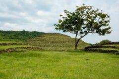 Guachimontones om Piramides royalty-vrije stock afbeelding