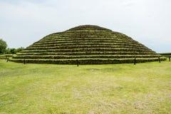 Guachimontones Round ostrosłupy fotografia royalty free