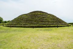 Guachimontones Round Pyramids Royalty Free Stock Photography