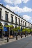 Guadalajara. Looking down a small street in a small town. Guadalajara, Mexico Stock Images
