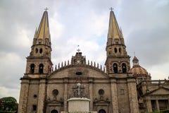 Guadalajara Catedral Imágenes de archivo libres de regalías