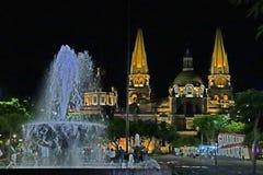 Guadalajara& x27; catedral de s imagens de stock