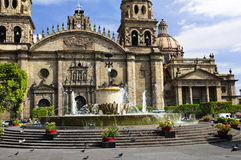 Guadalajara Cathedral in Jalisco, Mexico Stock Image