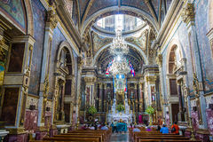 Guadalajara Cathedral Royalty Free Stock Photography