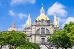 Guadalajara Cathedral Stock Photo