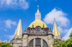 Guadalajara Cathedral Royalty Free Stock Photos