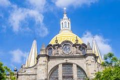 Guadalajara Cathedral Royalty Free Stock Photography