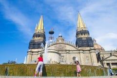 Guadalajara Cathedral Stock Images