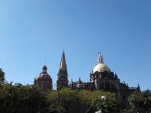 Guadalajara Cathedral stock photography